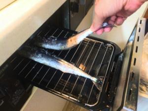 ガスコンロの魚焼きグリルの使い方と注意点