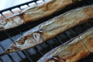 ガスコンロの魚焼きグリルで魚を美味しく焼く下準備と方法